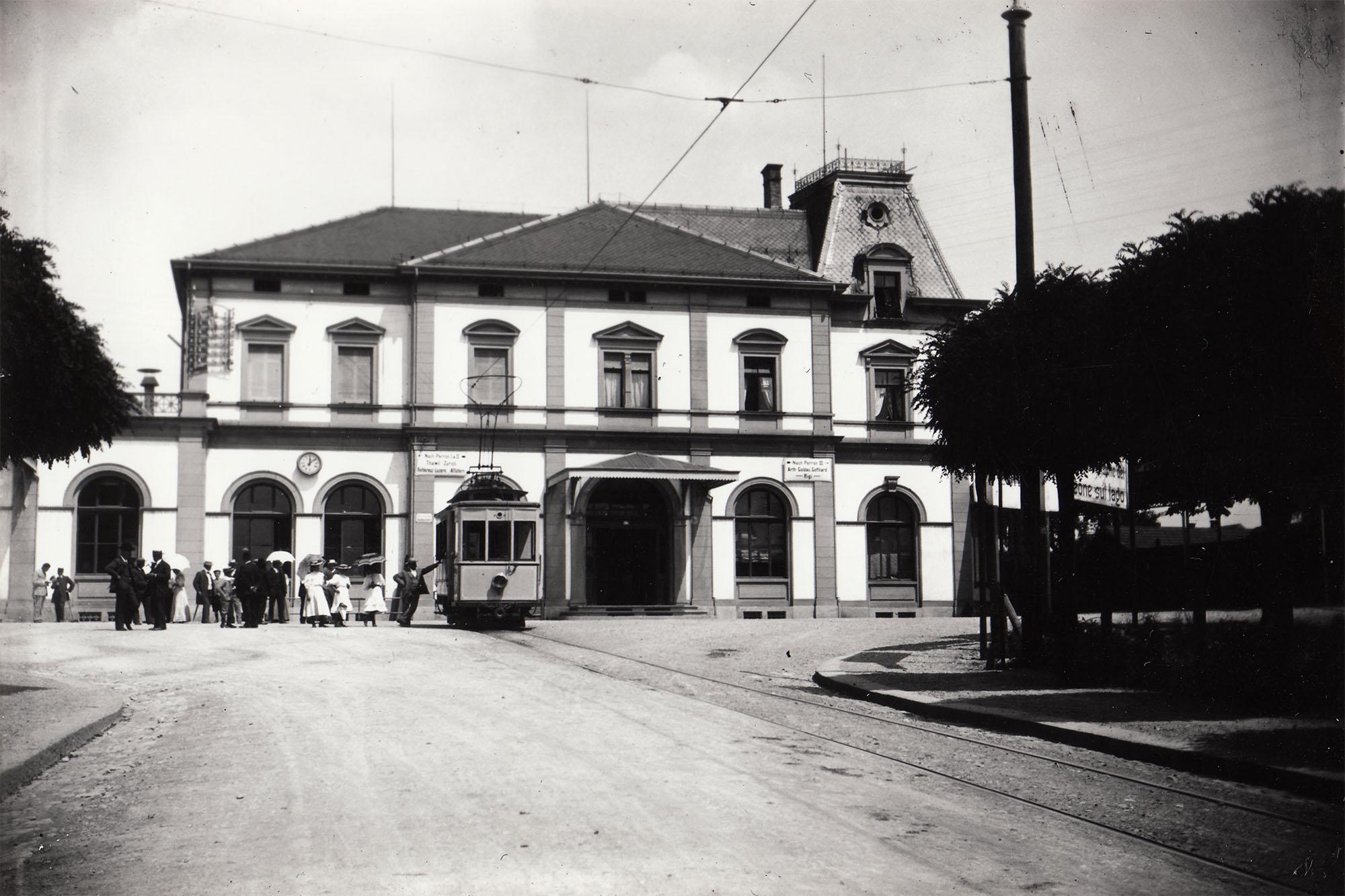 Haltestelle Bahnhof Zug