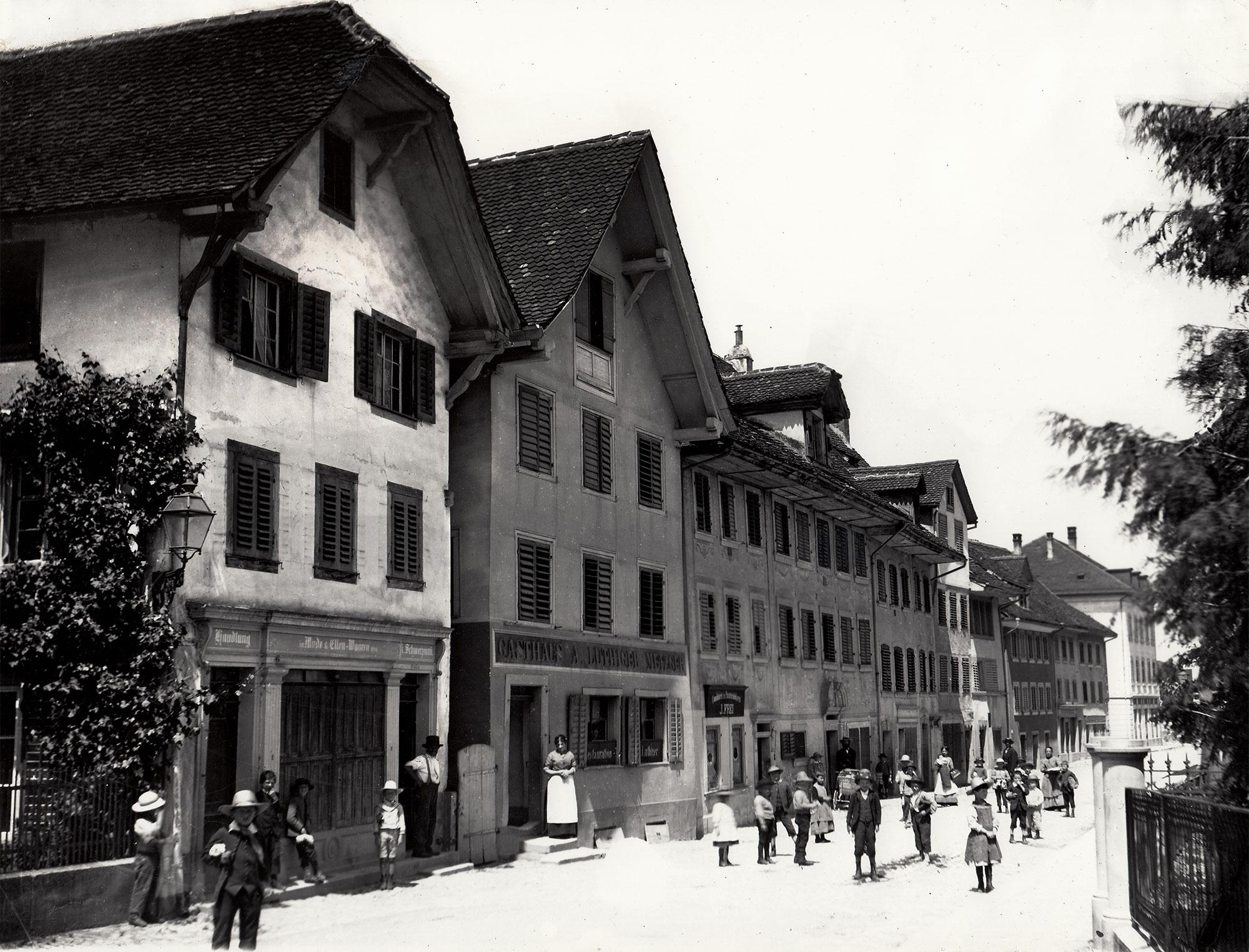 Zug Vorstadt vor 1887