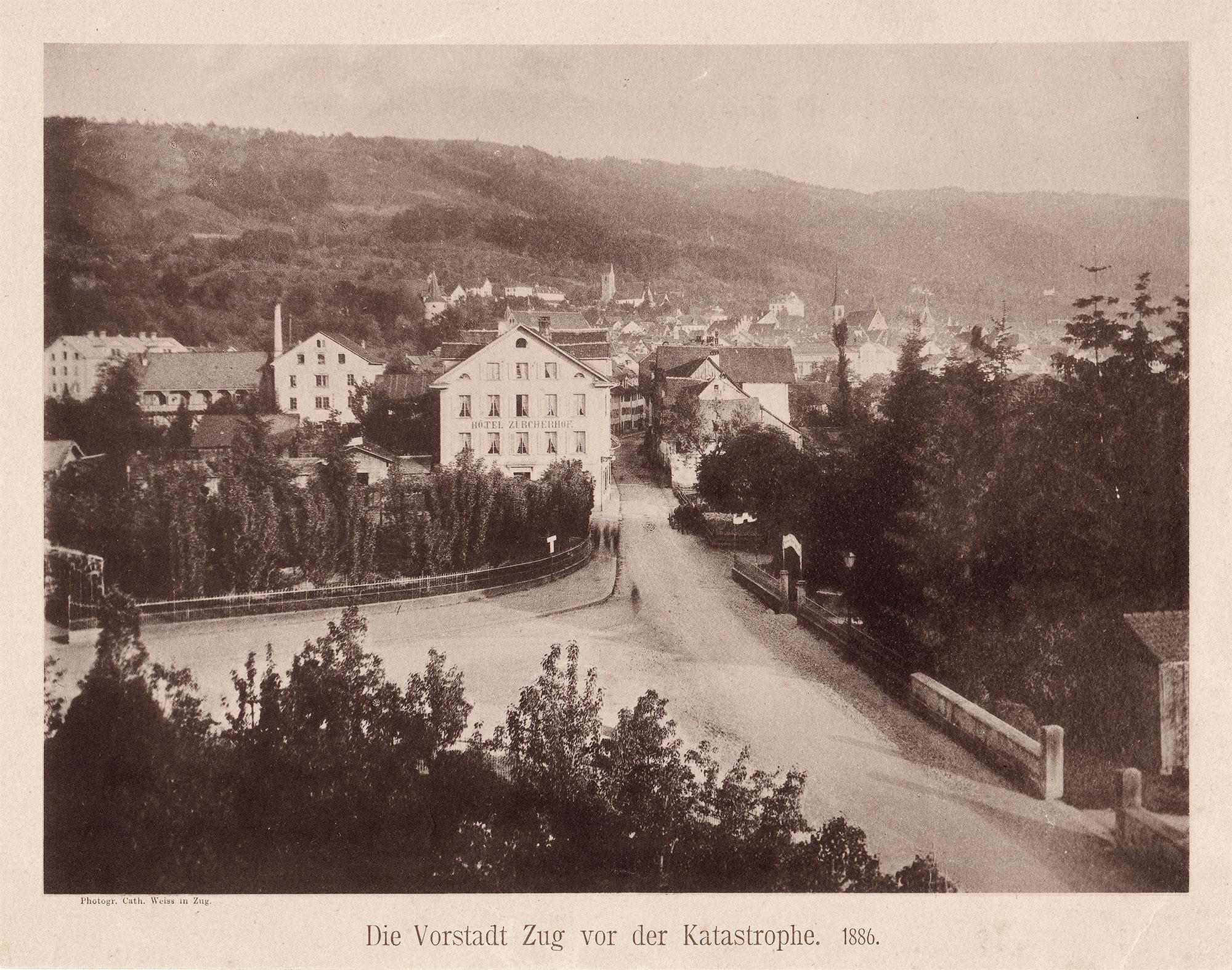 Zug Vorstadt 1886
