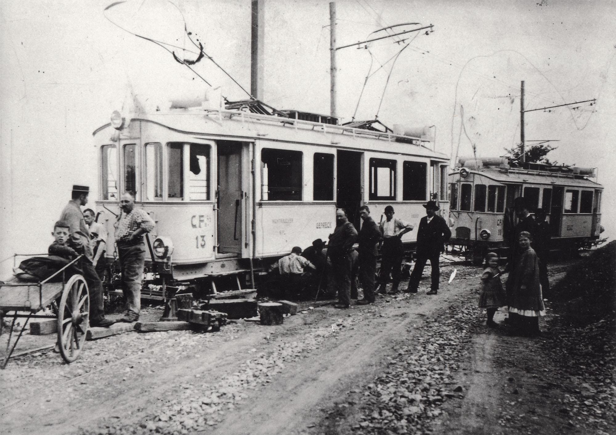 Strassenbahn der ESZ