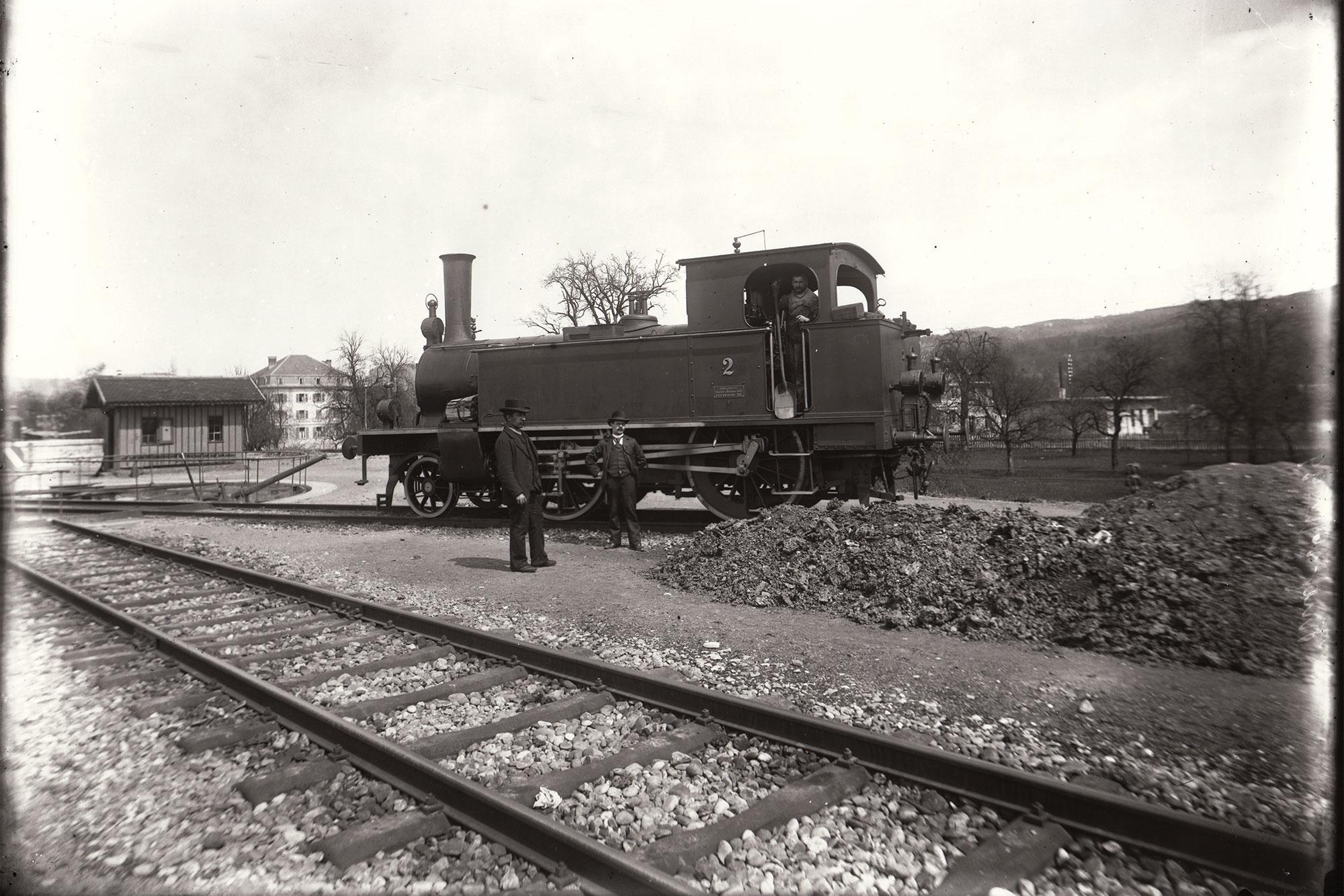 Lokomotive der «Schweizerischen Locomotiv & Maschinen-Fabrik» in Zug