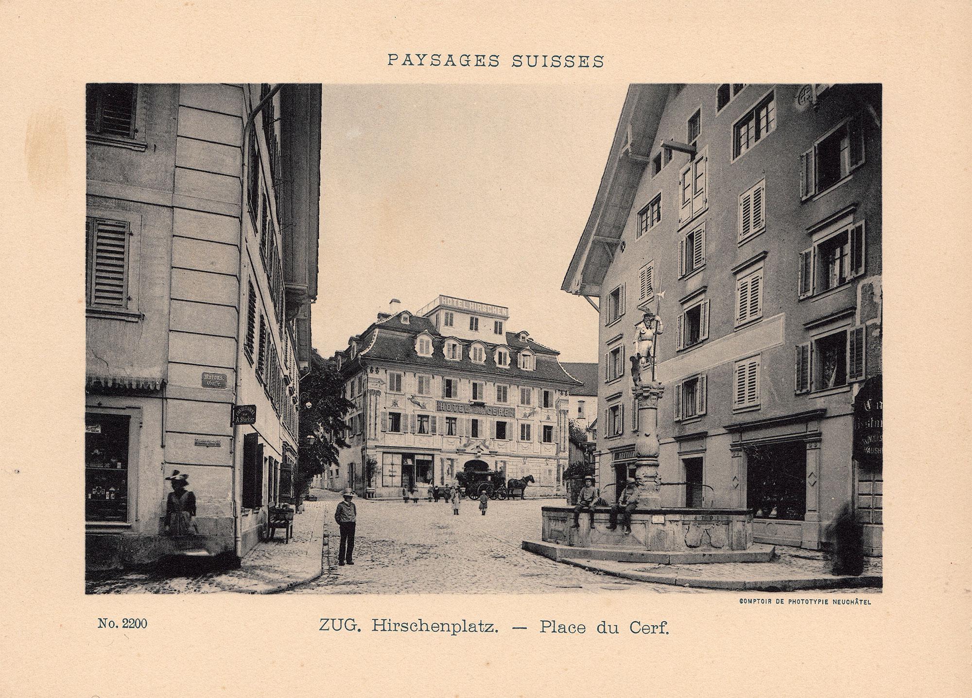 Hirschenplatz Zug