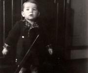 Albert Merz mit 18 Monaten (1943)