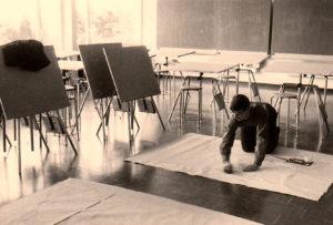 Albert Merz Lehrerseminar St. Michael Zug, ca. 1960